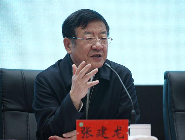 国家林业局党组书记、局长张建龙出席并讲话