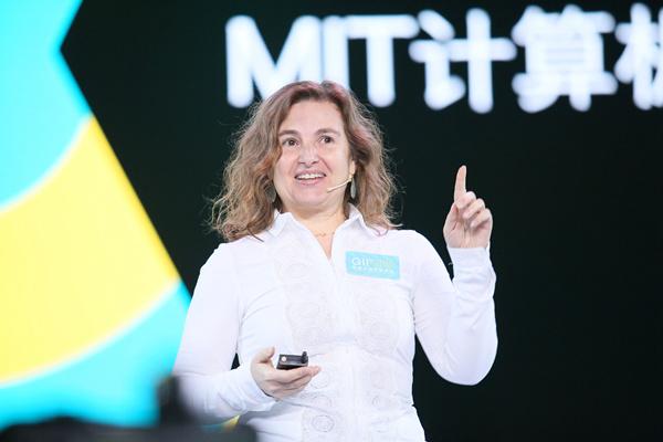 MIT计算机科学与人工智能实验室总监Daniela Rus在第六届极客公园创新大会演讲