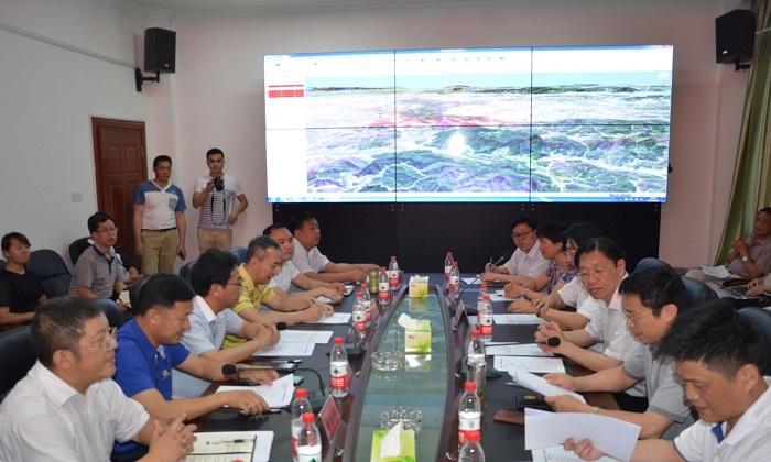 2016年6月6日,国家林业局信息办主任李世东一行赴湖南省衡阳市调研